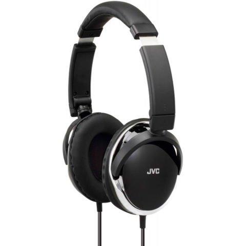 Czarne słuchawki wokółuszne JVC HA-S660 B