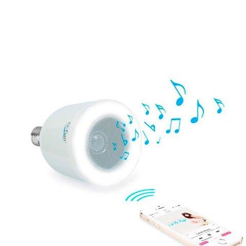 Hi-Fun Light bulb with built-in speaker