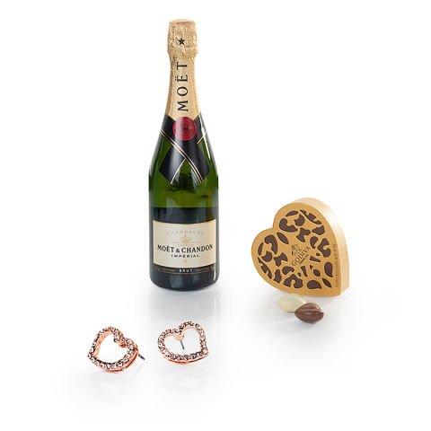 'Atout cœur' : Chocolats, bijoux et champagne