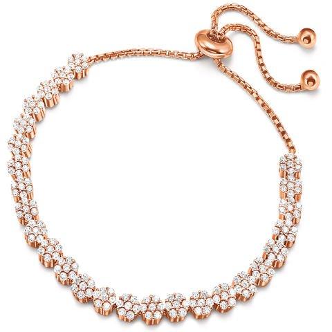 Elegance in bloom bracelet